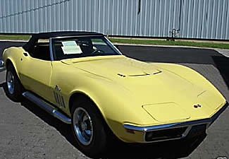 1969 corvette sting ray
